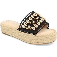 Chaussures Femme Sandales et Nu-pieds H&d YZ19-171 Negro