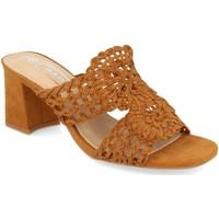 Chaussures Femme Mules H&d YZ19-68 Camel