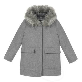 Vêtements Fille Manteaux 3 Pommes 3R44034-220-C Gris