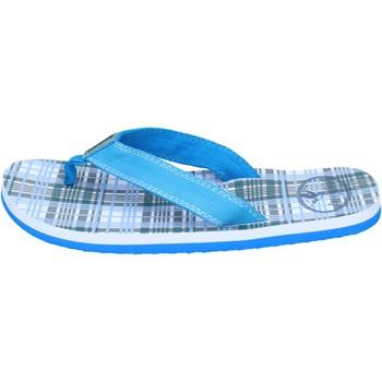 Chaussures Garçon Sandales et Nu-pieds Brooksfield sandales toile bleu clair
