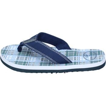 Chaussures Garçon Sandales et Nu-pieds Brooksfield sandales toile bleu