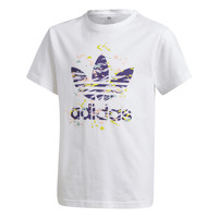 Vêtements Fille T-shirts manches courtes adidas Originals TREF TEE Blanc