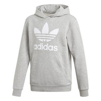 Vêtements Garçon Sweats adidas Originals TREFOIL HOODIE Gris