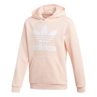 Vêtements Fille Sweats adidas Originals TREFOIL HOODIE Rose