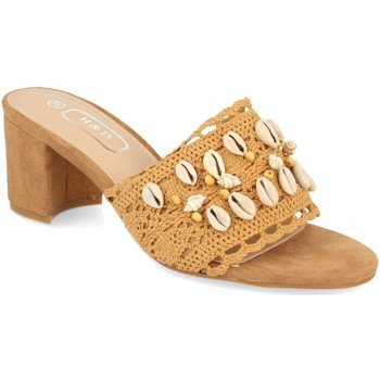 Chaussures Femme Mules H&d YZ19-150 Camel