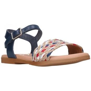 Chaussures Fille Sandales et Nu-pieds Oh My Sandals 4755 MARINO CB Niña Azul marino bleu