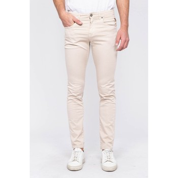 Vêtements Homme Pantalons 5 poches Ritchie Pantalon 5 poches CADOLY Beige