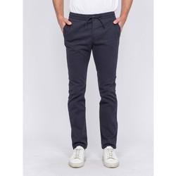 Vêtements Homme Chinos / Carrots Ritchie Pantalon CALVI Bleu marine
