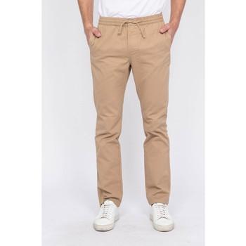 Vêtements Homme Chinos / Carrots Ritchie Pantalon CALVI Marron