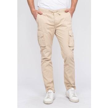 Vêtements Homme Pantalons cargo Ritchie Pantalon battle CORK Beige