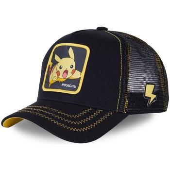 Accessoires textile Casquettes Capslab Casquette  trucker Pokemon Pikachu Noir Noir