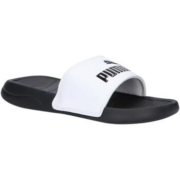 Chaussures Enfant Claquettes Puma 372313 POPCAT Blanco