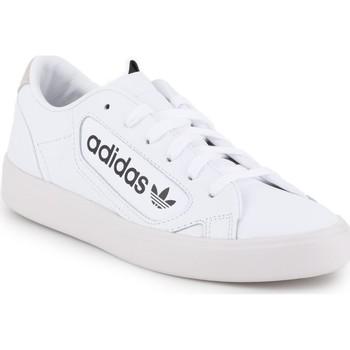 Chaussures Femme Baskets basses adidas Originals Adidas Sleek W EF4935 biały