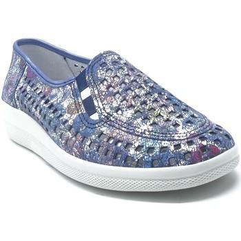 Chaussures Femme Ballerines / babies Longo 1045289 BLEU