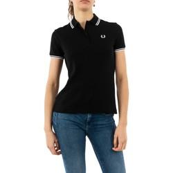 Vêtements Femme Polos manches courtes Fred Perry g3600 350 black noir