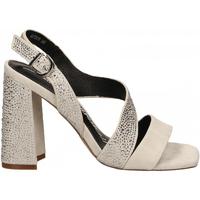 Chaussures Femme Sandales et Nu-pieds Luciano Barachini CAMOSCIO ghiaccio