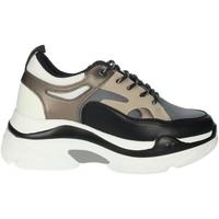 Chaussures Femme Baskets montantes Rocco Barocco RBSC4EX01 Noir/Beige