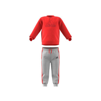 Vêtements Enfant Ensembles enfant adidas Performance MH LOG JOG FL Rouge / Gris