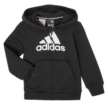 Vêtements Garçon Sweats adidas Performance B MH BOS FZ FL Noir