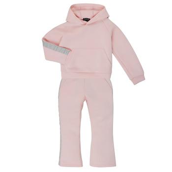 Vêtements Fille Ensembles de survêtement Emporio Armani 6H3V01-1JDSZ-0356 Rose