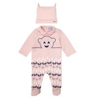 Vêtements Fille Pyjamas / Chemises de nuit Emporio Armani 6HHV08-4J3IZ-0355 Rose