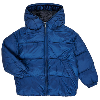 Vêtements Garçon Doudounes Emporio Armani 6H4BF9-1NLYZ-0975 Marine