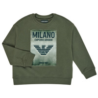 Vêtements Garçon Sweats Emporio Armani 6H4MM1-4J3BZ-0564 Kaki