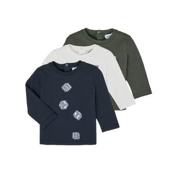 Vêtements Garçon T-shirts manches longues Emporio Armani 6HHD21-4J09Z-0564 Multicolore