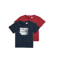 Vêtements Garçon T-shirts manches courtes Emporio Armani 6HHD22-4J09Z-0353 Multicolore