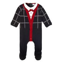 Vêtements Garçon Pyjamas / Chemises de nuit Emporio Armani 6HHD12-4J3WZ-F912 Marine