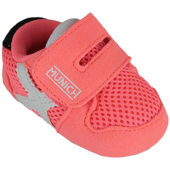 Chaussures Enfant Baskets mode Munich zero 8240031 Rose