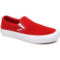 Chaussures Homme Slip ons Vans SLIP ON PRO red white Rouge