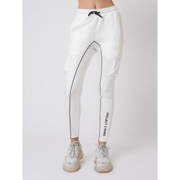 Vêtements Femme Pantalons de survêtement Project X Paris Jogging Blanc