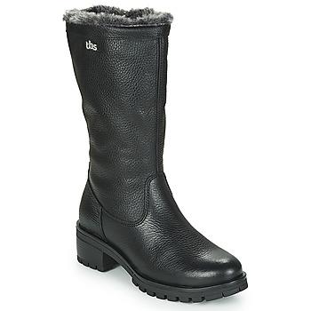 Chaussures Femme Bottes ville TBS PHILINA Noir