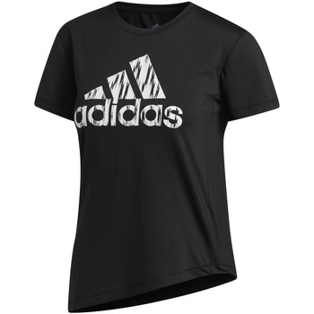Vêtements Femme T-shirts manches courtes adidas Originals T-shirt Badge Of Sport noir