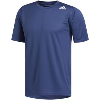 Vêtements Homme T-shirts manches courtes adidas Originals T-shirt Freelift Sport Fitted bleu