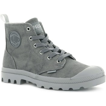 Chaussures Femme Boots Palladium PAMPA ZIP DESERTWASH DARK GREY