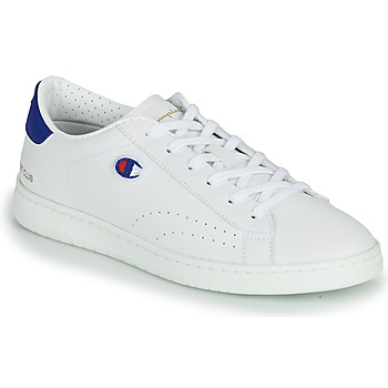 Chaussures Homme Baskets basses Champion COURT CLUB PATCH Blanc / Rouge / Bleu