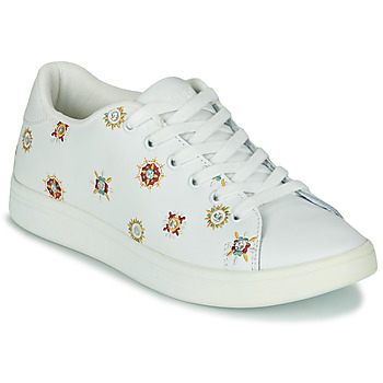 Chaussures Femme Baskets basses Desigual COSMIC_JULIETTE Blanc