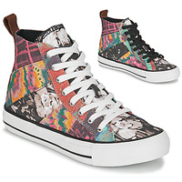 Chaussures Femme Baskets montantes Desigual BETA_HERITAGE Multicolor