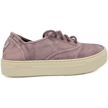 Chaussures Femme Baskets basses Natural World Basket Platform  GRIS-Marine 677-6112E Bleu