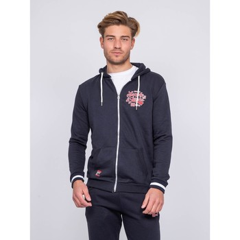 Vêtements Homme Sweats Ritchie Sweat zippé capuche WALSH Bleu marine