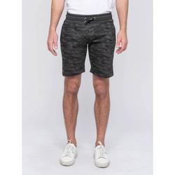 Vêtements Homme Shorts / Bermudas Ritchie Bermuda molleton motif militaire BANVOU Gris