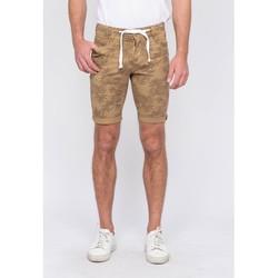 Vêtements Homme Shorts / Bermudas Ritchie Bermuda chino motifs BANLON Beige