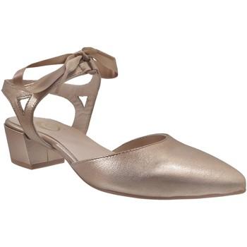 Chaussures Femme Escarpins Folies 004@ Doré cuir
