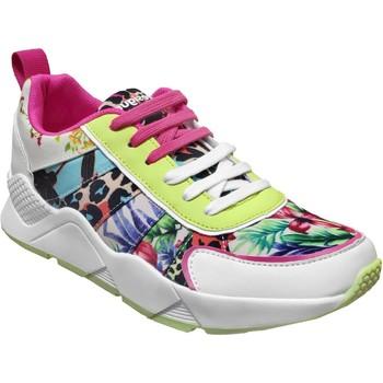 Chaussures Femme Baskets basses Desigual Hydra Multicouleur toile