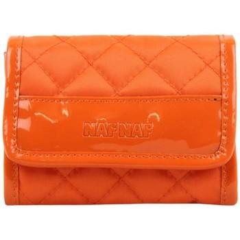 Sacs Femme Porte-monnaie A Découvrir ! Porte monnaie Naf Naf toile nylon orange Multicolor