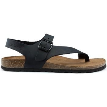 Chaussures Femme Sandales et Nu-pieds Interbios SANDALES D'INTÉRIEUR DENNIS 7162 BLACK