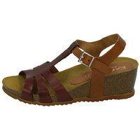 Chaussures Femme Sandales et Nu-pieds Karralli  Marron