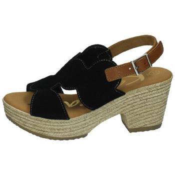 Chaussures Femme Sandales et Nu-pieds Karralli  Noir